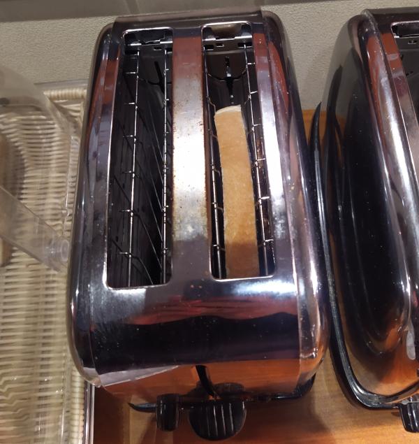 快活クラブ無料モーニングトースター